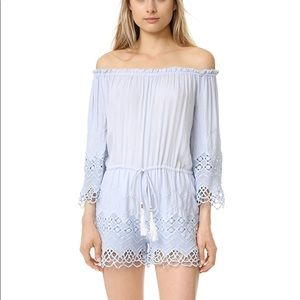 NWT White off the shoulder romper